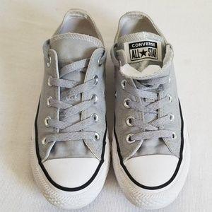 Converse All Star Sparkle Gray Sneaker